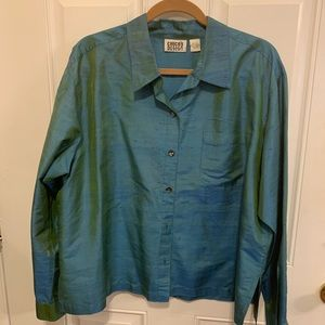 Chico's holiday shirt size 3